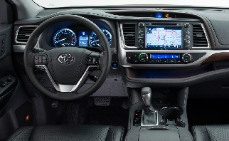 changes between the 2013 and 2014 toyota highlander all data sheet