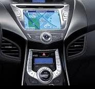 Hyundai  Elantra infotainment system