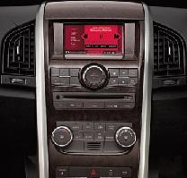 Mahindra XUV 500 Infotainment System