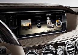 Mercedes-Benz S-Class multimedia infotainment