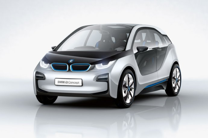 BMW i3 connected car