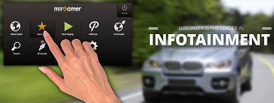 General Motor selects miRoamer for car infotainment