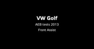 Euro NCAP releases the test results of Autonomous Emergency