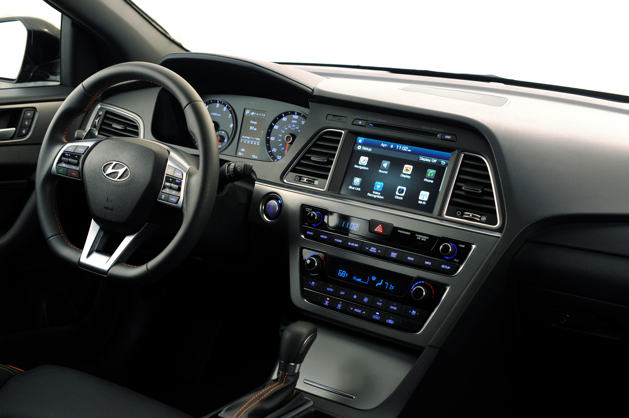 Hyundai Sonata 2015 To Integrate Carplay And Android Auto In Dash Infotainment Telematicswire