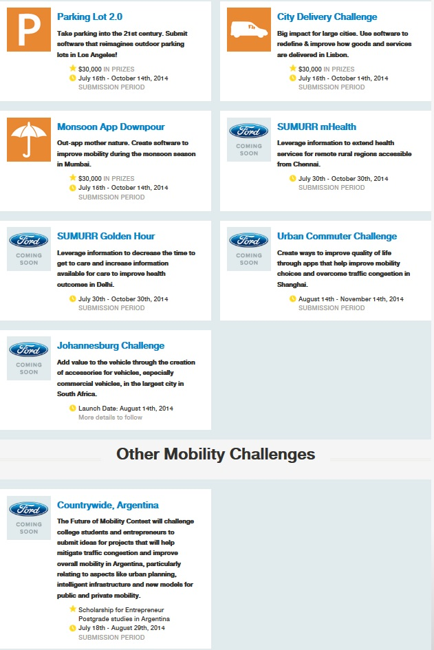 Ford Innovate Mobility_Challenge