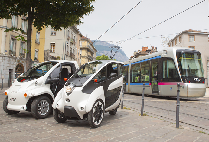 The 'smart' city of Grenoble: Toyota's new move in the realm of mobility
