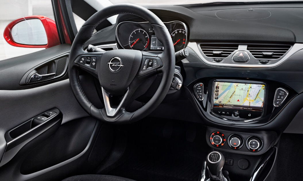 opel brings intellilink infotainment and driver assistance system to 2015 corsa v telematicswire. Black Bedroom Furniture Sets. Home Design Ideas