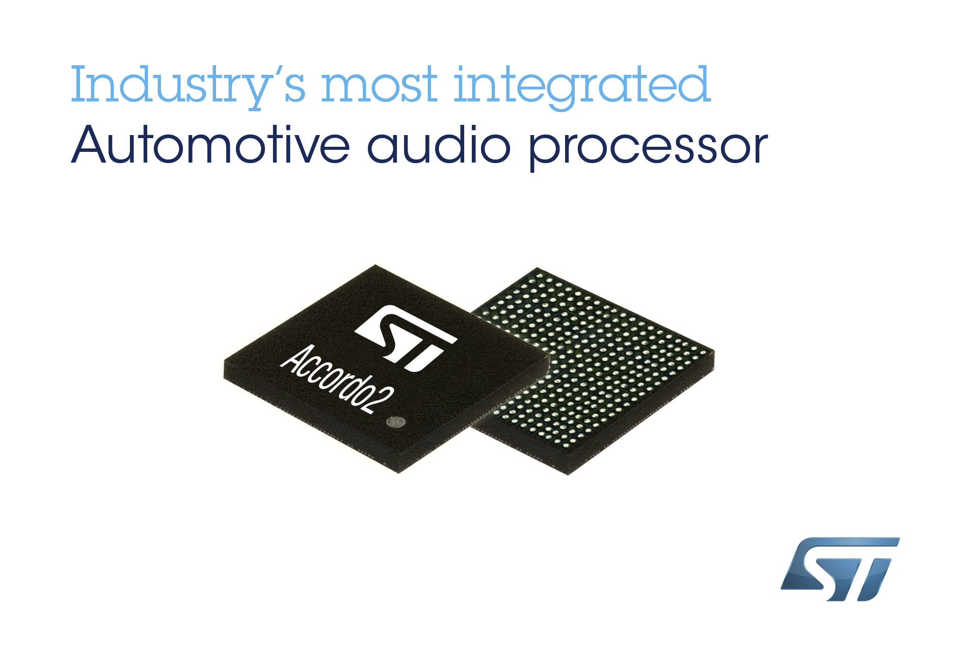STMicroelectronics launches Accordo2 family of in-car audio