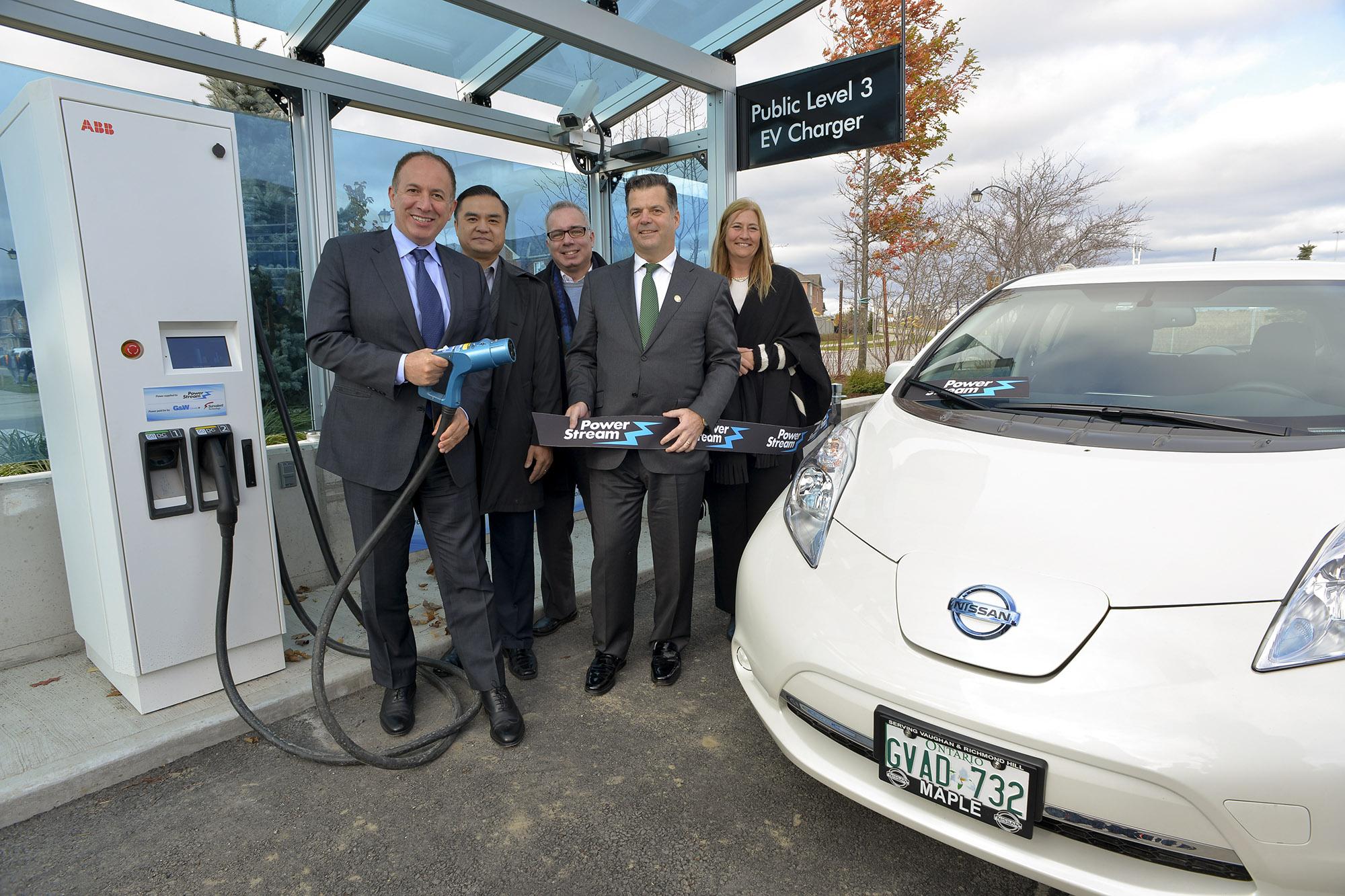 PowerStream EV charging unit