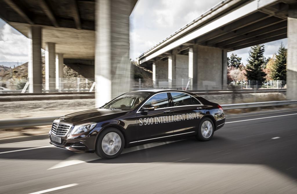 Mercedes Autonomous