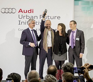 "Mexico City bags Audi's Urban Future Award 2014 for its ""Urban Mobility Operating System"""