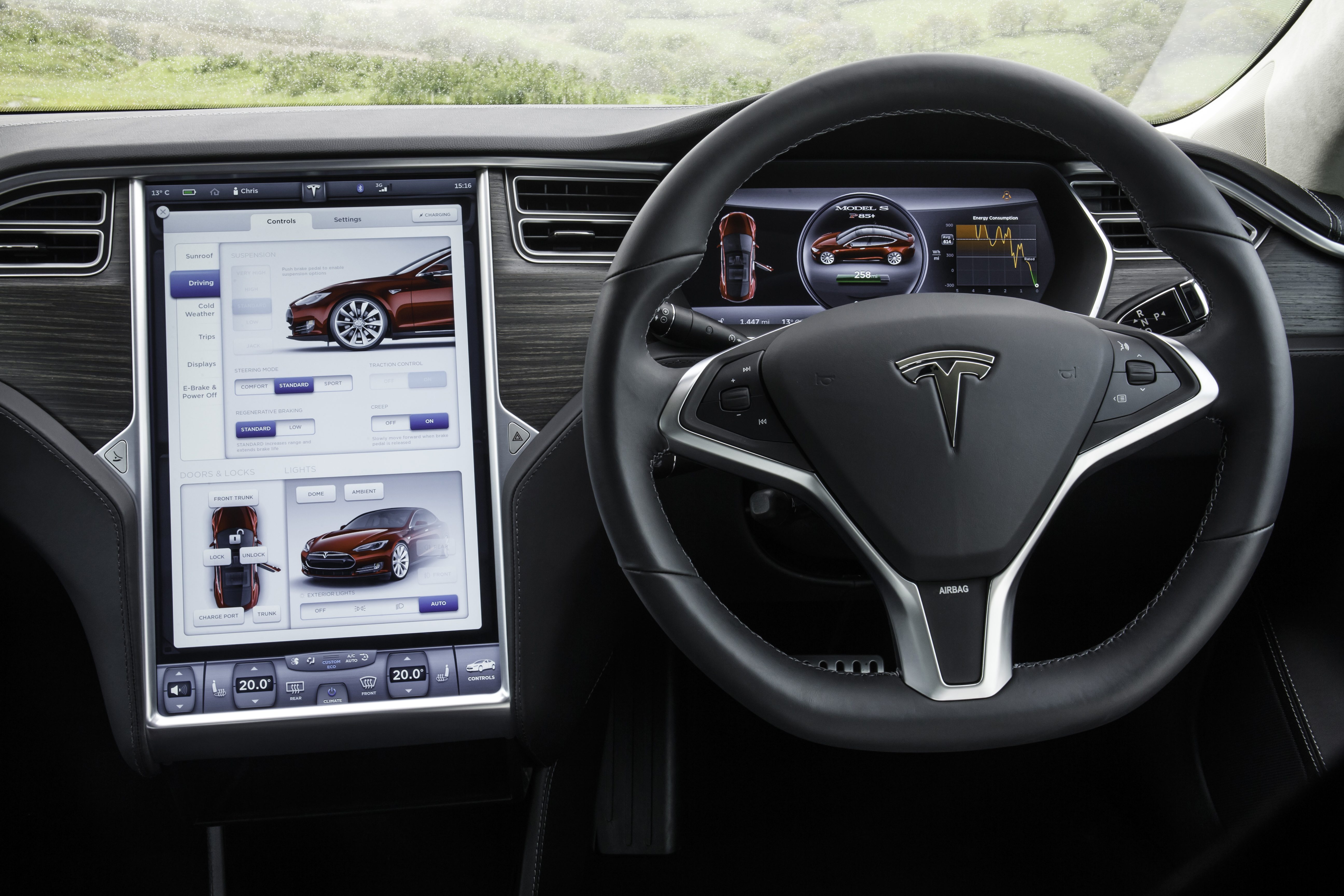 telstra to provide mobile connectivity solutions in tesla model s telematicswire. Black Bedroom Furniture Sets. Home Design Ideas