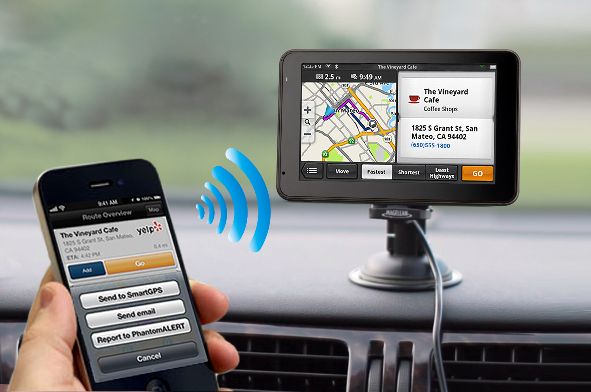Magellan Announces SmartGPS Navigation App Integration With Bosch SoftTec's mySPIN Platform
