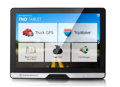Rand Macnally TND tablet