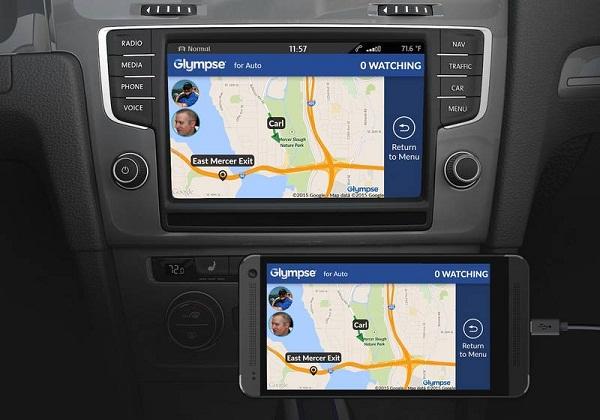 Glympse_for_Auto_Volkswagen_Peugeot_MirrorLink