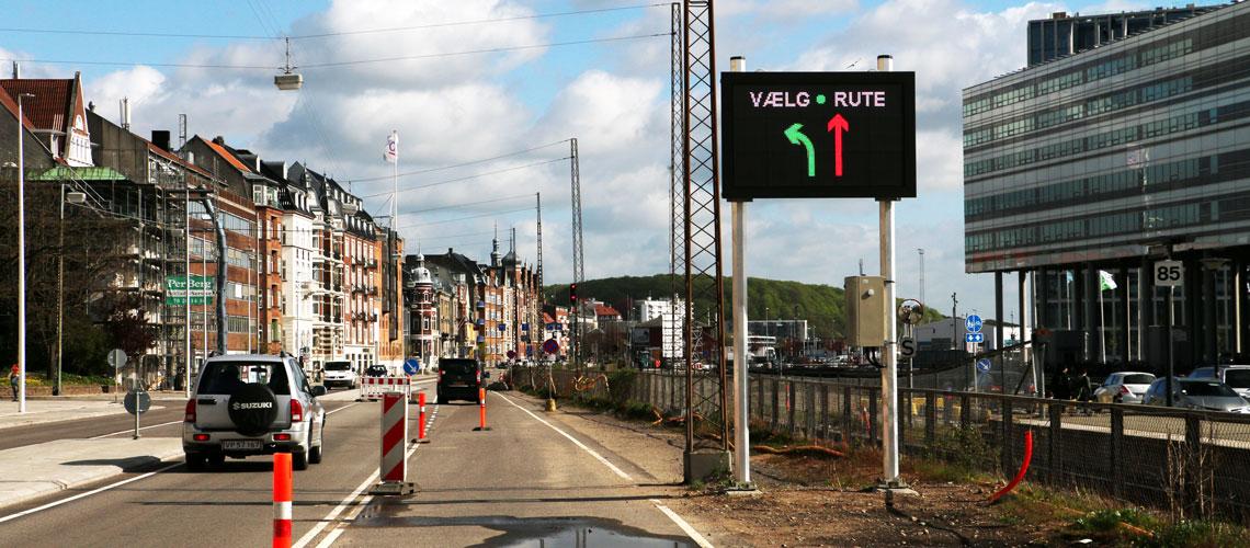 The city of Aarhus BLIP System