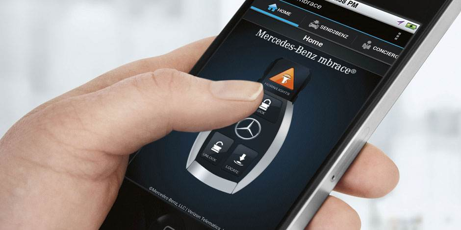 Mercedes benz mbrace connected car services for all 2016 for Mercedes benz com connect