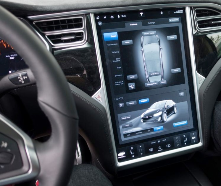 Tesla Delivers Model X With Active Parking Sensors And