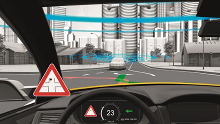 Left-turn Driving Maneuver Based on Vehicle-to-X Communication (V2X).