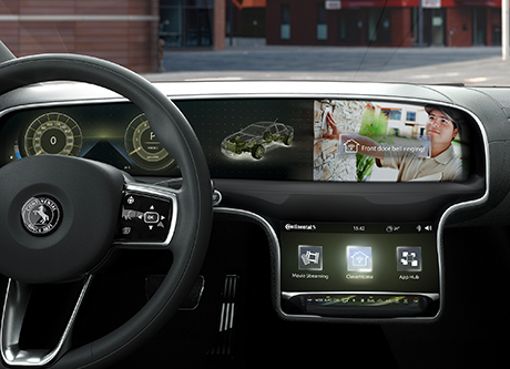 Continental in-car app development platform
