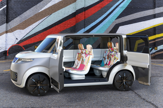 Nissan Teatro for Dayz concept car leverages connected