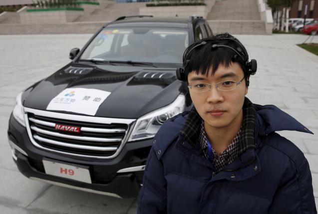 Nankai_Brain_Controlled_Autonomous_Car.