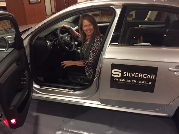 App Based Audi Carrental Brought To Las Vegas By Silvercar - Audi silver car