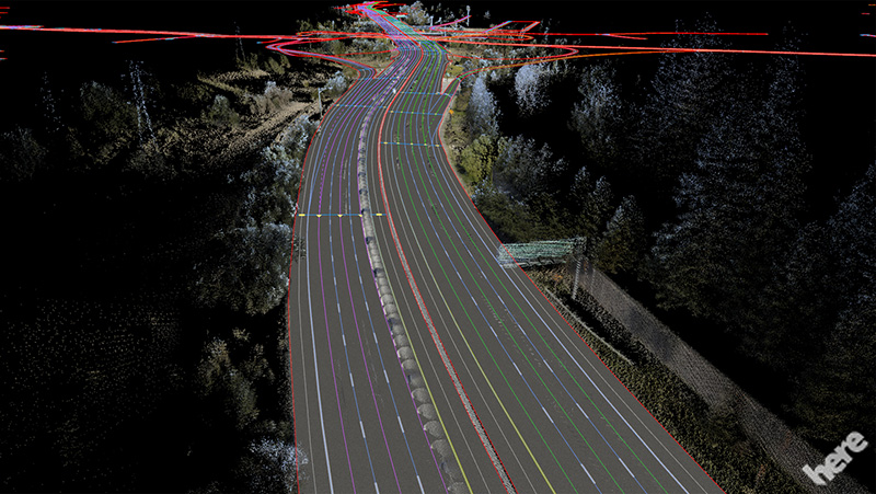 HERE_HD_MAP_automated_Driving_CES