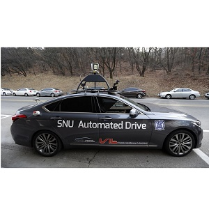 """Snuber"" taxi traverses Seoul University campus in autonomous mode"