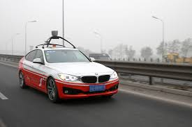 baidu's self driving car