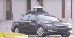 Acura Autonomous Car