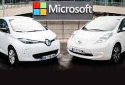 Renault Nissan Microsoft