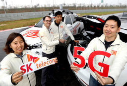 First 5G Connected Car demoed by SKT, Ericsson &BMW