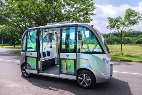 NTU, SMRT Services and 2getthere join forces to deploy autonomous vehicles (AV) in NTU Smart Campus