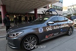 South Korea's first autonomous car tested on roads of Yeouido
