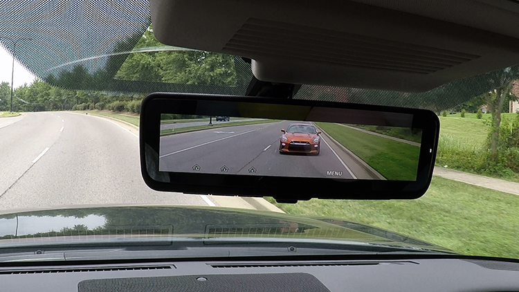 Nissan launches Intelligent Rear View Mirror (I-RVM) in some new models