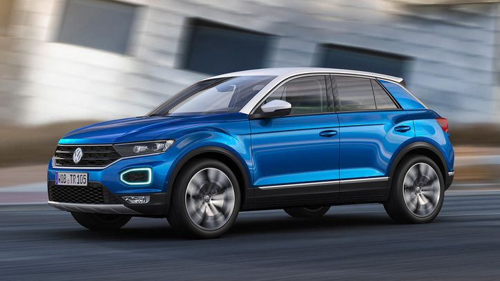 Volkswagen unveils T-Roc, SUV with many advanced features