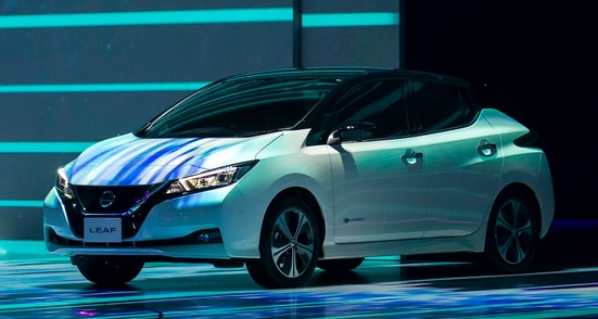 Nissan LEAF with improved range and advanced technologies like ProPILOT, ProPILOT Park, e-Pedal launched