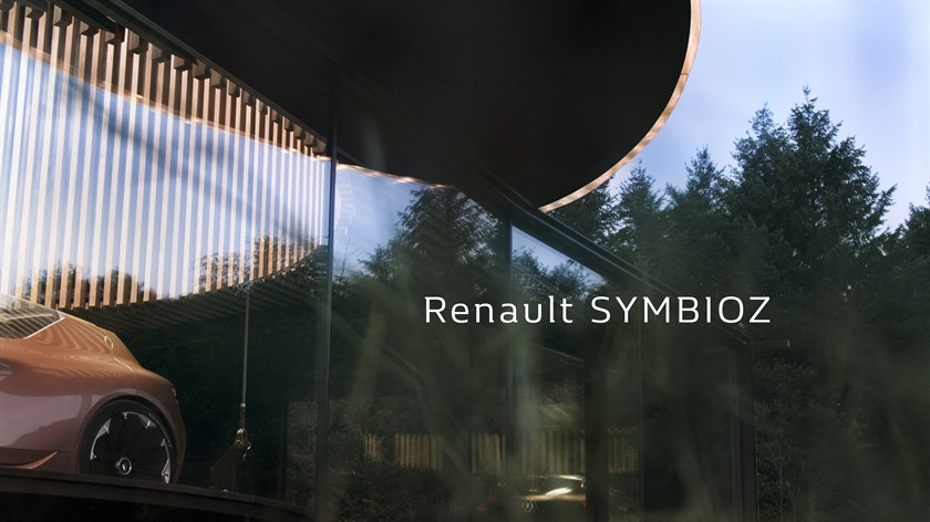 Renault to unveil concept car SYMBIOZ at Frankfurt motor show