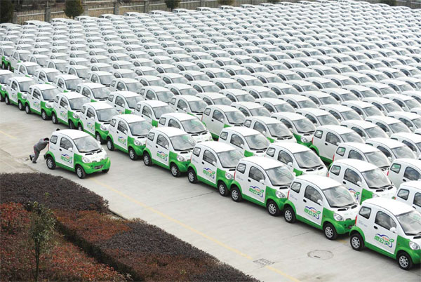 Automakers turn to China as it emerges as the largest EV market