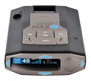 ESCORT MAX 360c Connected Radar / Laser Detector (PRNewsfoto/ESCORT, Inc.)