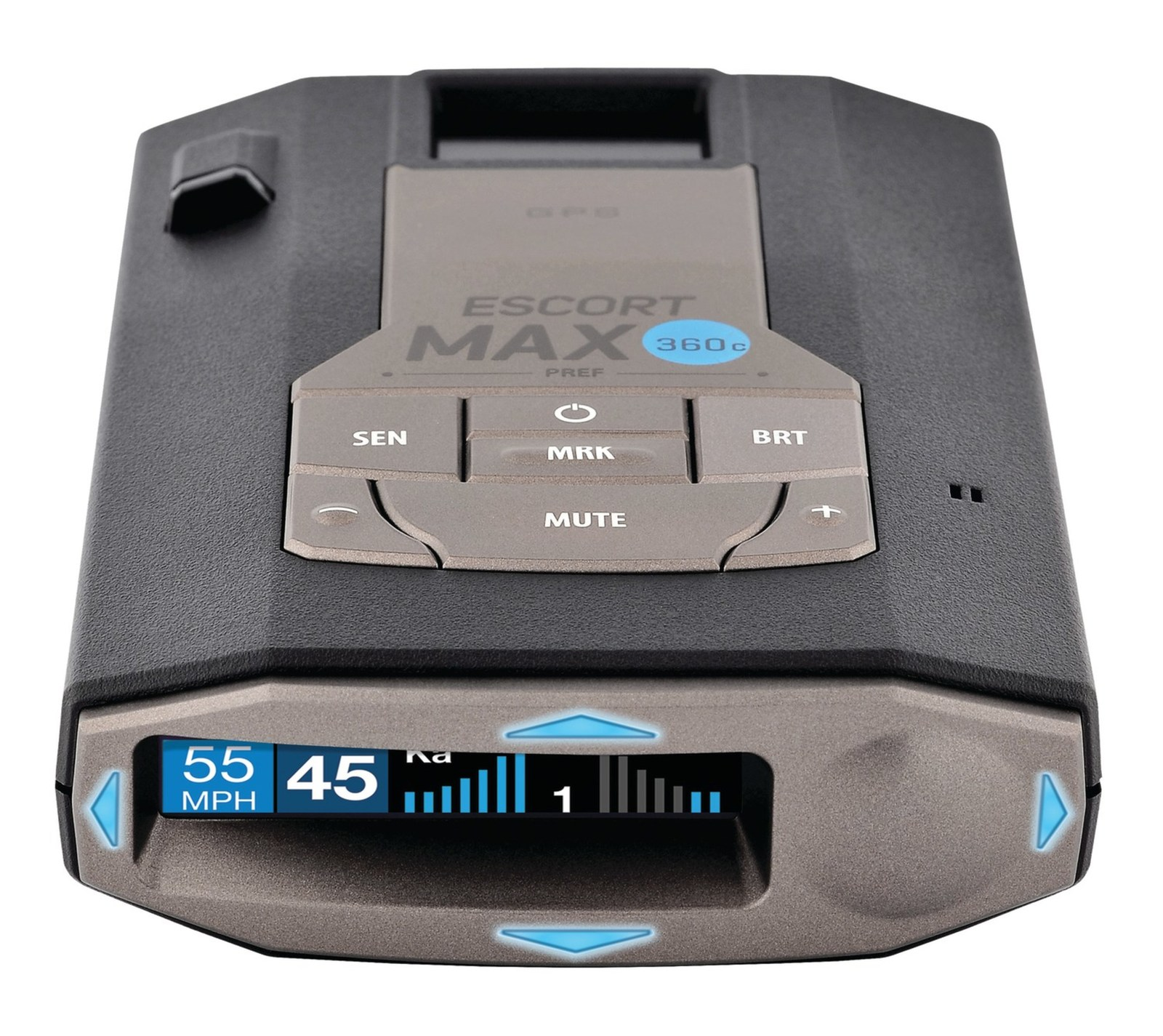 ESCORT MAX 360c, the first radar and laser detector designed for the connected car unveiled