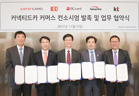 Five Korean companies come together to form a consortium for the connected car commerce