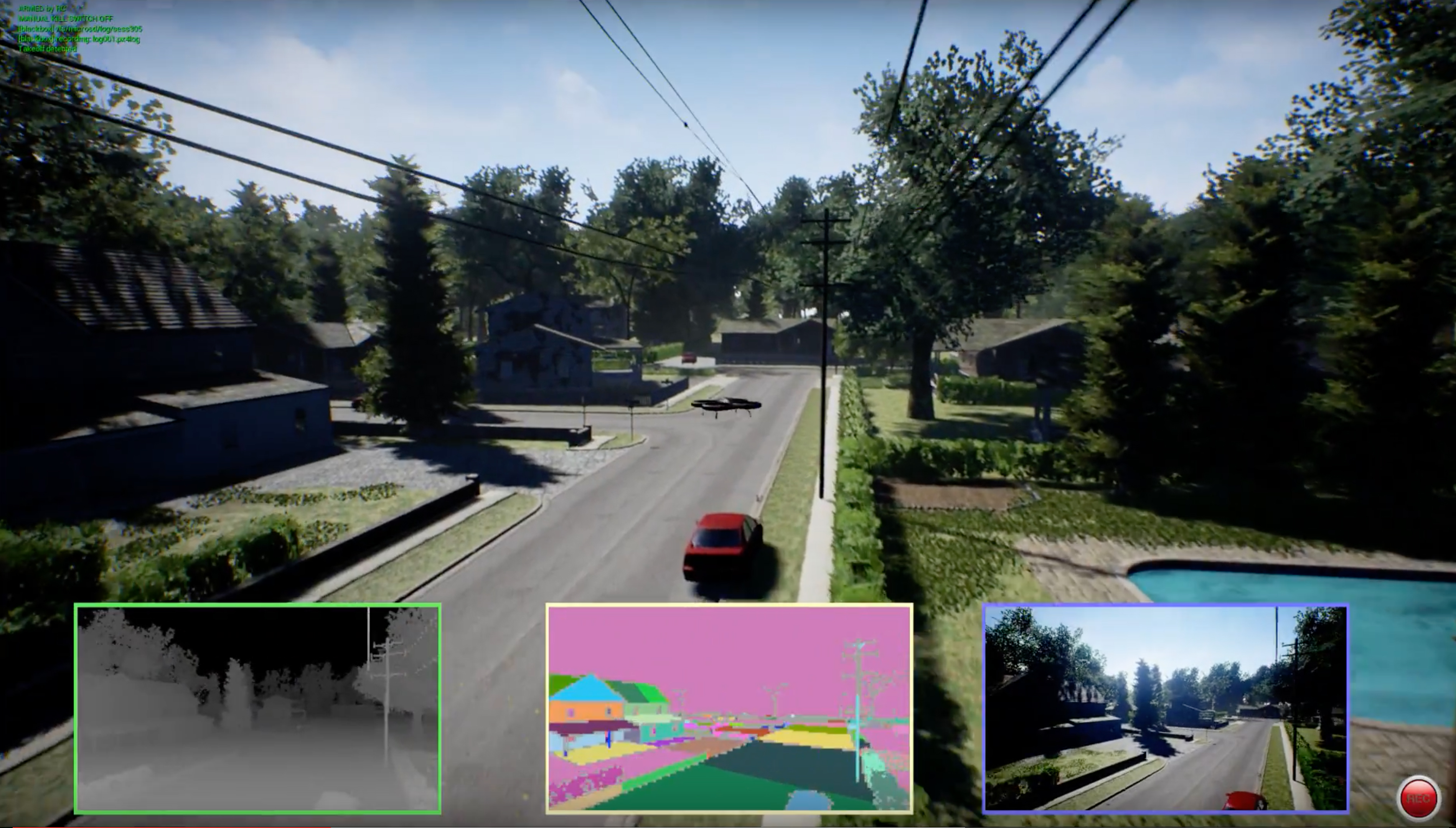 Microsoft expands its AI simulator to include autonomous car research.