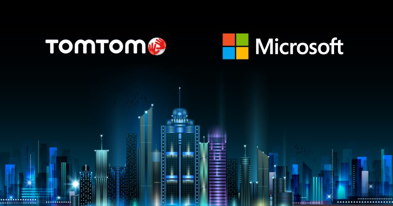 TomTom's API's are powering Microsoft Azure's newly launched location based services