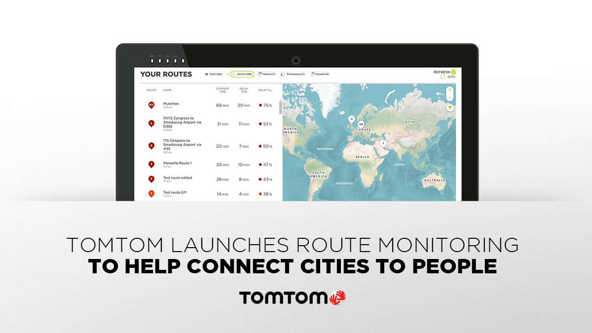 TomTom Route Monitoring launched to address congestion challenges faced by smart cities