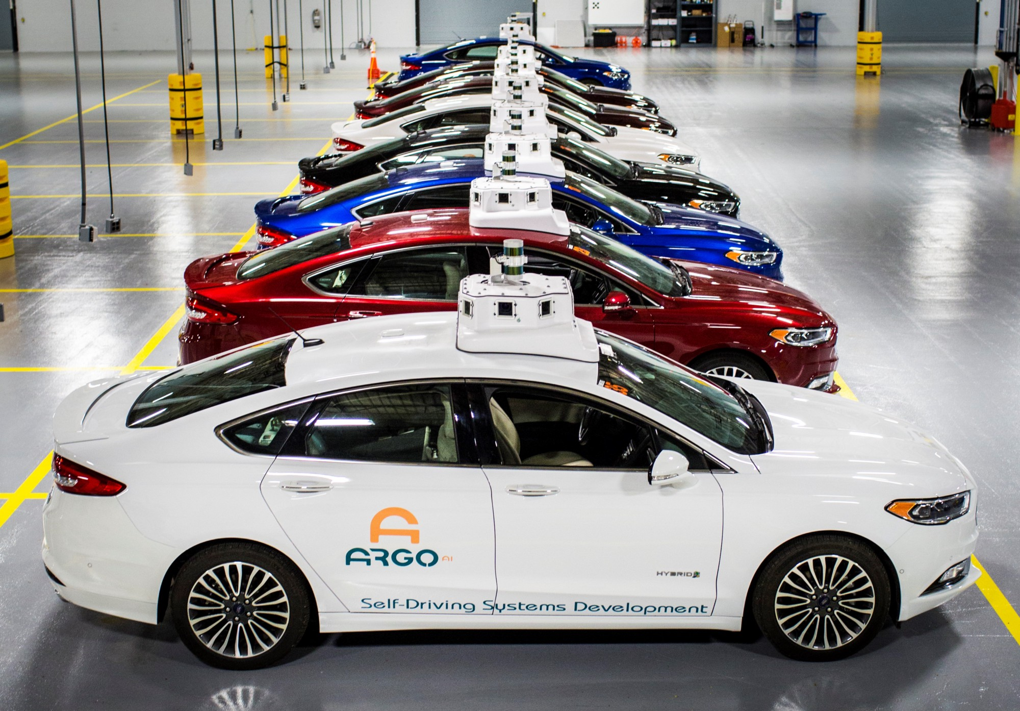 Ford designing an all-new vehicle optimized for self-driving technology