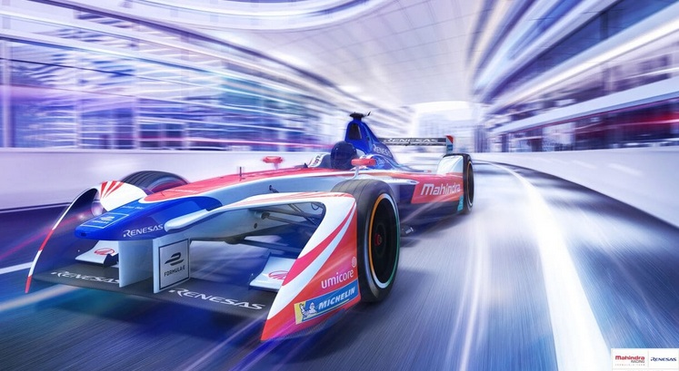 Renesas joins as the official technology partner of the Mahindra Racing Formula E team