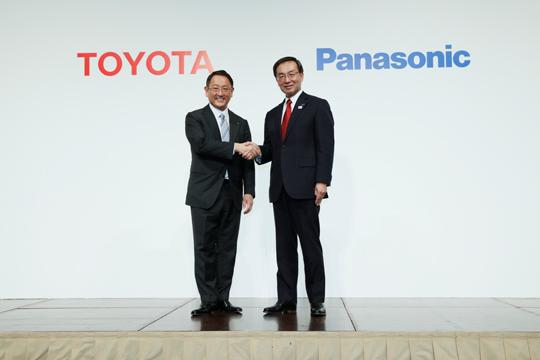 Toyota and Panasonic target further advancements in automotive batteries